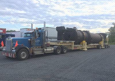 Northern Québec asphalt plant project