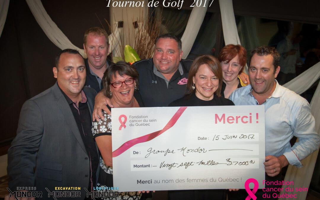 Express Mondor poursuit son appui à la lutte contre le cancer du sein